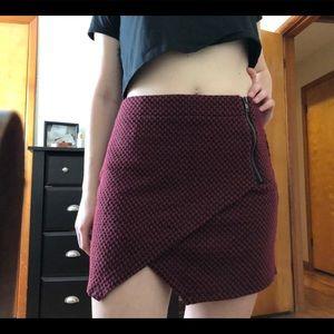 Sanctuary • High waisted envelope skirt • M